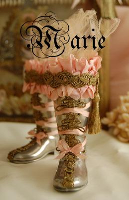 1 Marie Boots- Marie Publication April 2009 Stampington